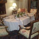 evening dining room