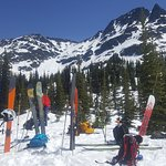 Skis off and lets find the Transceivers!