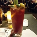 The Lobster Pot Bloody Mary. Best in Town! Tall Too, SpicY, G00D!