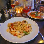 Typical Italian fare, but too expensive for what it was