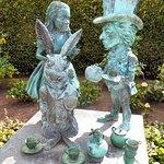 My favourite statue in Hamilton Gardens