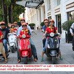 Visitas guiadas en moto