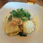 Salmon and dauphinoise potatoes