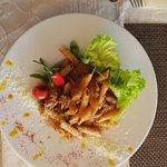 Pasta šuta dubrovnik and mediterannean vegy risotto