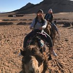 Our travel agent on 2 days tour to Zagora with our clients