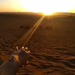 """Our travel agent on 2 days tour to Zagora with our clients """"sunset"""""""