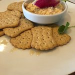 Crab and crackers