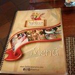 Easy to read menu