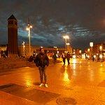 An evening in Placa d'Espanya
