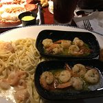Their shrimp pasta is amazing! Not to mention the buttery shrimp!