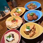 Delicious street food! Mini portions of things on the menu - great if your indecisive/new 2 the