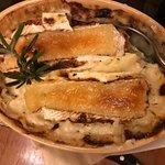 Cauliflower with camembert