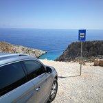 Trip to seitan limania with platanias taxi!!!