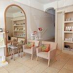 Reception area at Tonic Beauty Salon