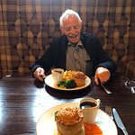 Haggis pie for the 'old man'!
