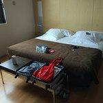 Zimmer mit bequemen Betten - Etage 8 - ist sehr ruhig gelegen