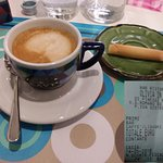Caffè e conto modesto (non si paga il coperto)