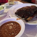 Beef Ribs with the chillied beans