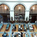 Biblioteca Ambrosiana. Sala de investigadores.