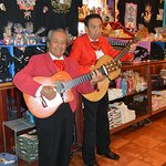 Two of the musicians in Mi Tierra.