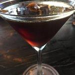 Coffee orange martini