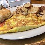 Olde House Cafe Western omelette.