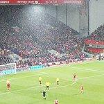Snowfall at Anfield - Liverpool v Watford - March, 2018