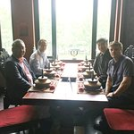lunch meeting with Dr. Liu & QN onboard mgmt