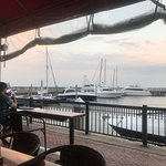 Monday night supper by the Marina.