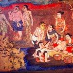 early 19th century mural in Lai Kham Viharn