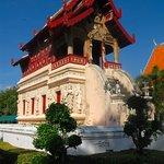 library building at Wat Phra Singh