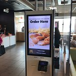 Automated Ordering Screens McDonalds