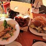 Lunch at Tropics Bar & Grill