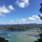 Tairua harbour views from Mt Paku.
