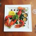 Sharing lobster