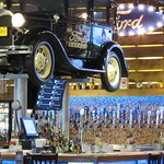 Model t over the bar area