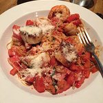 Pomodori with Shrimp & Scallops in red sauce