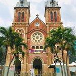 Saigon Notre Dame Cathedral Foto