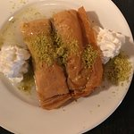 Baklava for dessert last night!