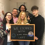 Amazing escape from Team 'Saracino's Gone Wilde's!' Our quickest cryptologists on the silver lev