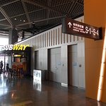 Subway, Narita Airport 1st Terminal South Wing照片