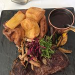 Sirloin with yorkshire pudding main