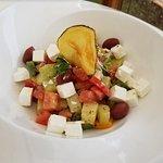 Best Greek salad ever.