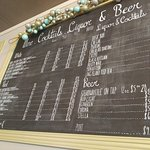 Specials/Drinks Menus board