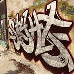 Graffiti near Ossington street
