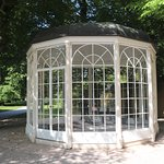 The famous gazebo from the film (actually one of three)