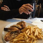 1/2 Roast Chicken and Fries