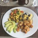 Vegan breakfast - Tofu scramble