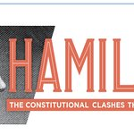 Constitution Center's Hamilton poster (download)