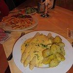 Asparagus & Hollandaise Sauce  with Boiled Potatoes